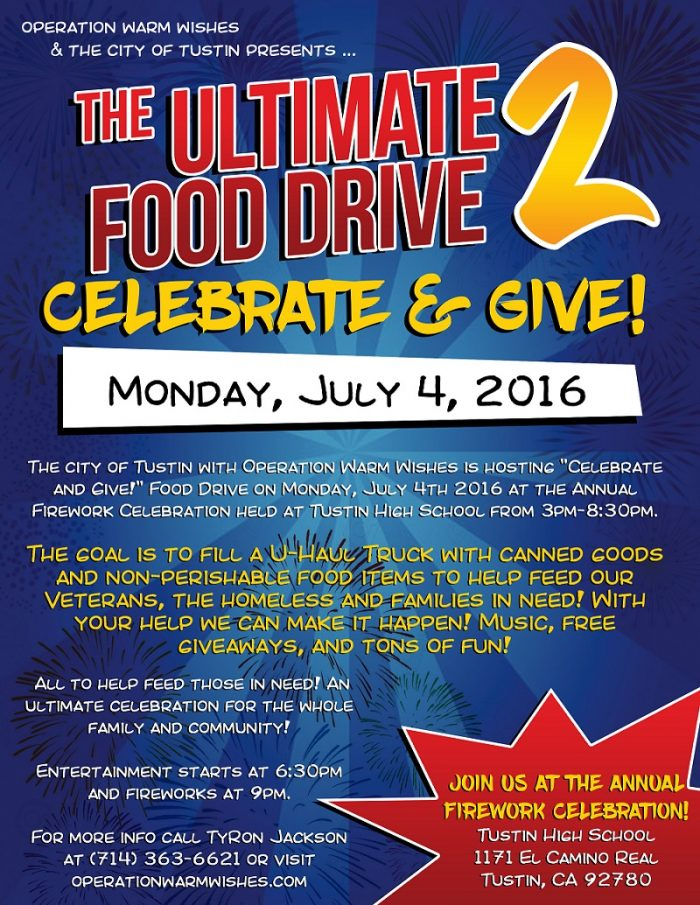 4th of July Food Drive